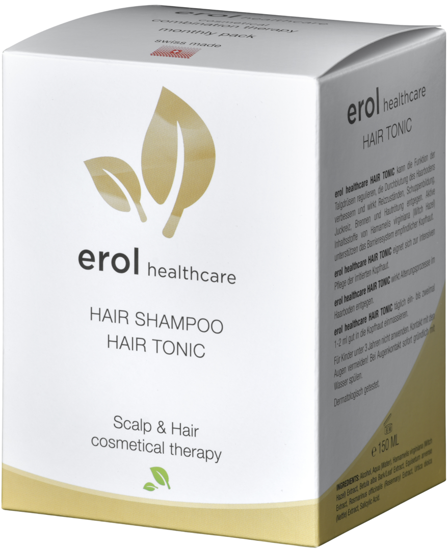 Erol Healthcare Shampoo und Tonic Set 2x150ml